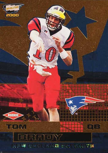 Ultimate Tom Brady Rookie Cards Gallery, Checklist and Hot List 26
