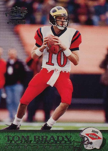 Ultimate Tom Brady Rookie Cards Gallery, Checklist and Hot List 16