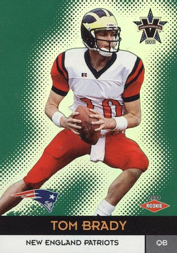 Ultimate Tom Brady Rookie Cards Gallery, Checklist and Hot List 27