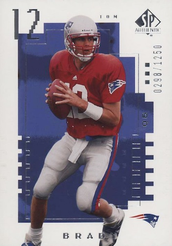 Ultimate Tom Brady Rookie Cards Gallery, Checklist and Hot List 35
