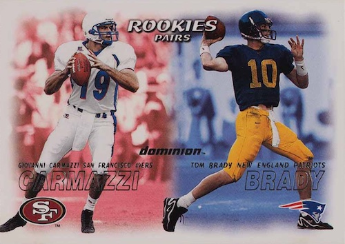 Ultimate Tom Brady Rookie Cards Gallery, Checklist and Hot List 33