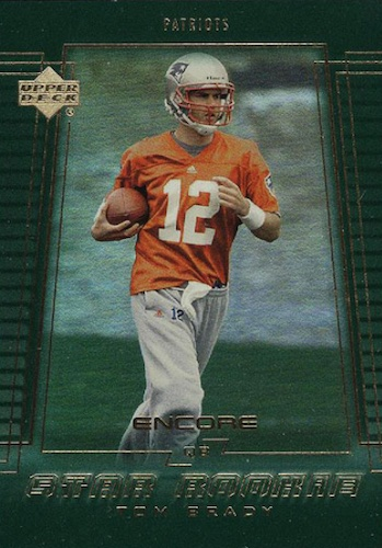 Ultimate Tom Brady Rookie Cards Gallery, Checklist and Hot List 39