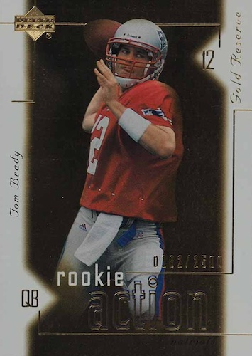Ultimate Tom Brady Rookie Cards Gallery, Checklist and Hot List 41