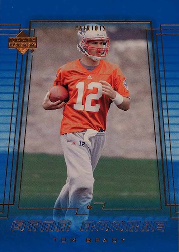 Ultimate Tom Brady Rookie Cards Gallery, Checklist and Hot List 38