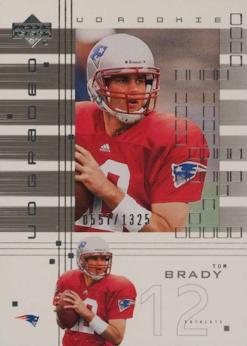 Ultimate Tom Brady Rookie Cards Gallery, Checklist and Hot List 43