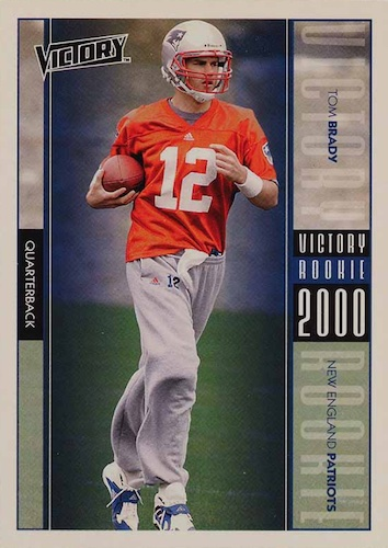 Ultimate Tom Brady Rookie Cards Gallery, Checklist and Hot List 44