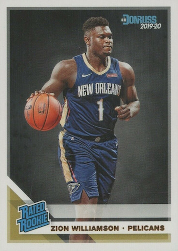 Top Zion Williamson Rookie Cards to Collect 3