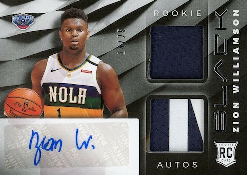 Top Zion Williamson Rookie Cards to Collect 52