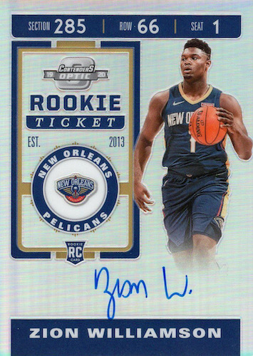 Top Zion Williamson Rookie Cards to Collect 57