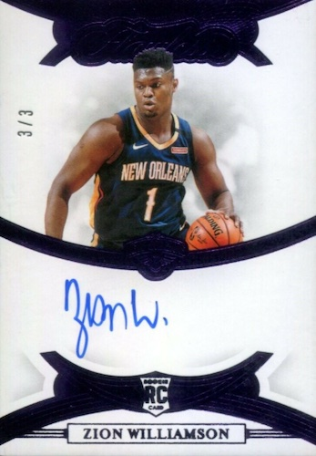 Top Zion Williamson Rookie Cards to Collect 63