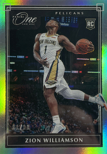 Top Zion Williamson Rookie Cards to Collect 28