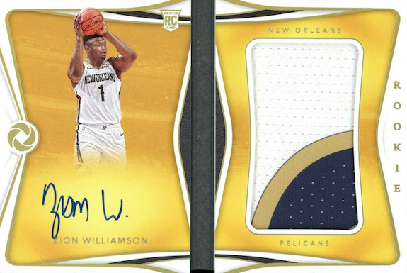Top Zion Williamson Rookie Cards to Collect 77