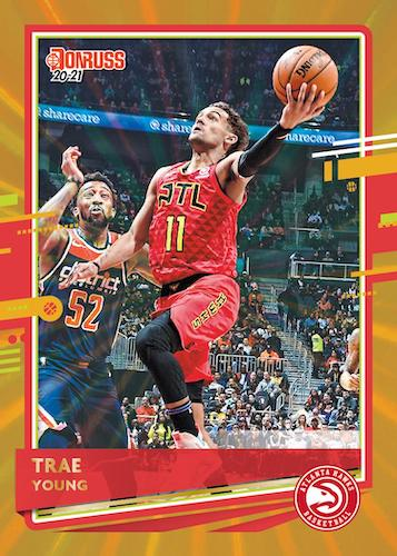 2020-21 Donruss Basketball Cards - Checklist Added 4