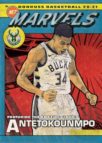 2020-21 Donruss Basketball Cards - Checklist Added 6
