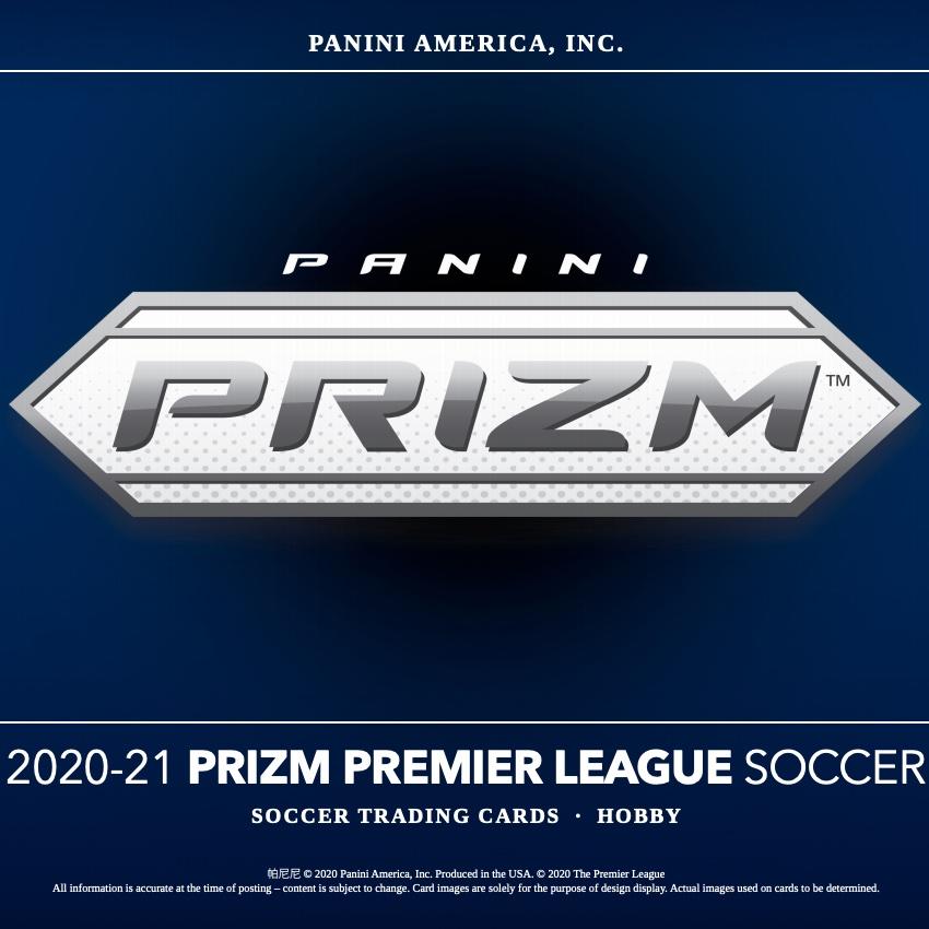 2020 21 Panini Prizm Premier League Checklist Set Info Boxes Date