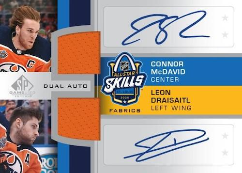 2020-21 SP Game Used Hockey Cards 2