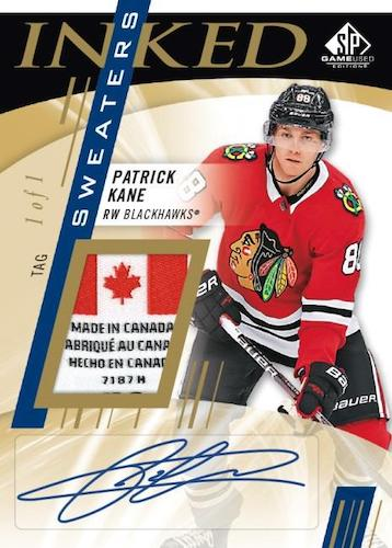 2020-21 SP Game Used Hockey Cards 3