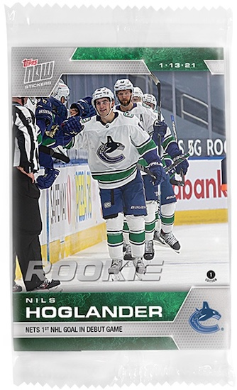 2020-21 Topps Now NHL Stickers Hockey Cards - Week 8 1