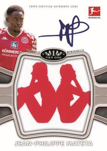 2020-21 Topps Tier One Bundesliga Soccer Cards 6