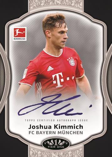 2020-21 Topps Tier One Bundesliga Soccer Cards 5