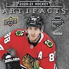 2020-21 Upper Deck Artifacts Hockey Cards - Rookie Redemption Checklist