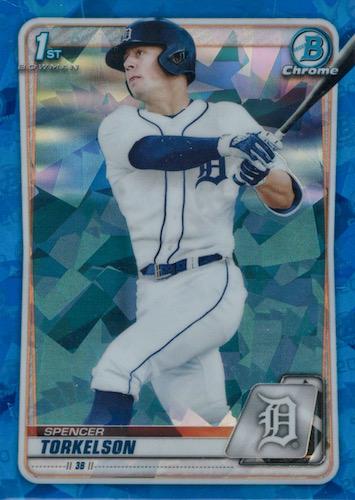 2020 Bowman Draft Sapphire Edition Baseball Cards 3