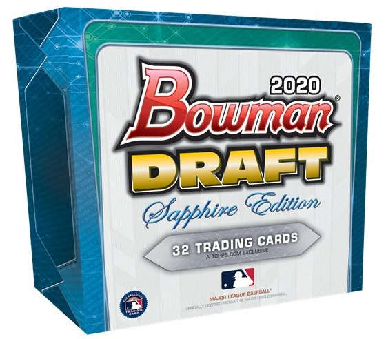 2020 Bowman Draft Sapphire Edition Baseball Cards 4
