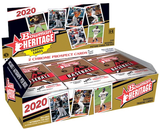 2020 Bowman Heritage Baseball Cards 5