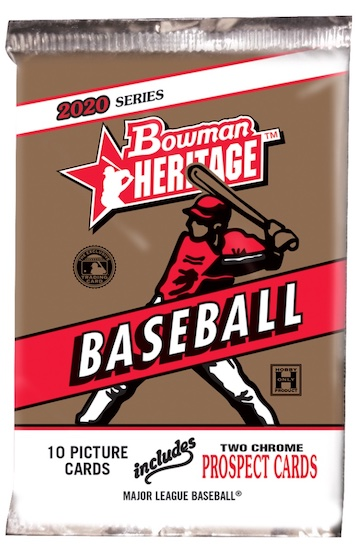 2020 Bowman Heritage Baseball Cards 4