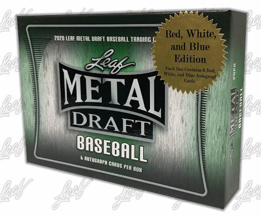 2020 Leaf Metal Draft Baseball Cards 6
