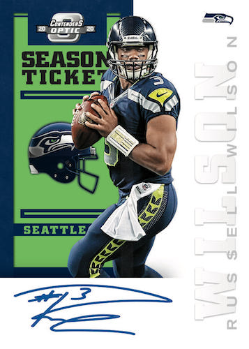 2020 Panini Contenders Optic Football Cards - Checklist Added 11