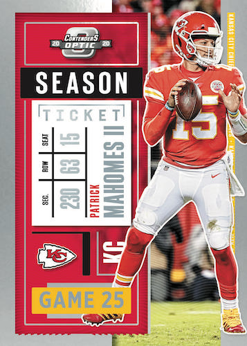 2020 Panini Contenders Optic Football Cards - Checklist Added 3