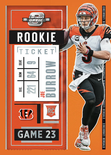2020 Panini Contenders Optic Football Cards - Checklist Added 4