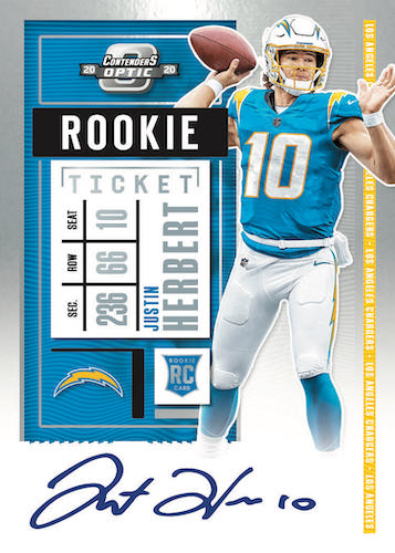 2020 Panini Contenders Optic Football Cards - Checklist Added 7