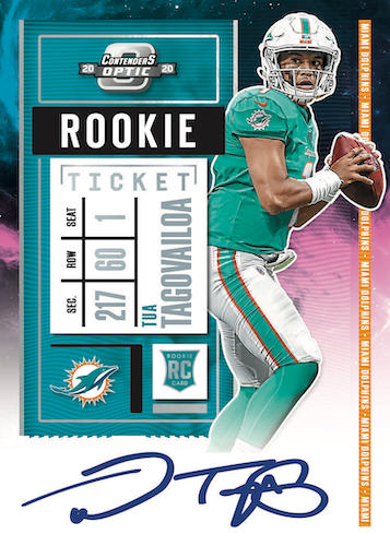 2020 Panini Contenders Optic Football Cards - Checklist Added 8