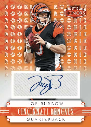 2020 Panini Honors Football Cards 5