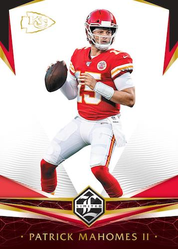2020 Panini Limited Football Cards 3