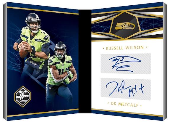 2020 Panini Limited Football Cards 9