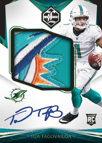 2020 Panini Limited Football Cards 5