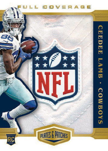 2020 Panini Plates & Patches Football Cards - Checklist Added 10