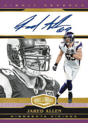 2020 Panini Plates & Patches Football Cards 6