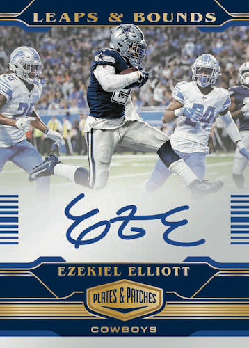 2020 Panini Plates & Patches Football Cards - Checklist Added 8