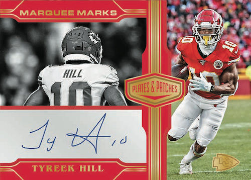 2020 Panini Plates & Patches Football Cards - Checklist Added 7