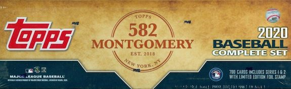 2020 Topps Baseball Complete Factory Set Guide and Exclusives Checklist 20
