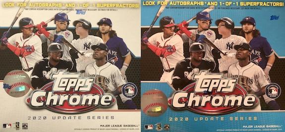 2020 Topps Chrome Update Series Baseball Cards 3