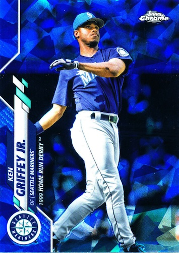 2020 Topps Chrome Update Series Sapphire Edition Baseball Cards 3