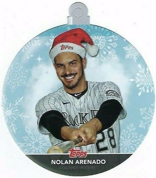 2020 Topps Holiday Baseball Mega Box Cards 5