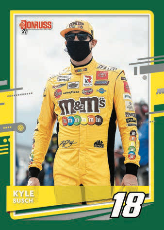 2021 Donruss Racing NASCAR Cards - Checklist Added 3