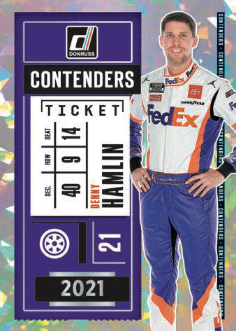 2021 Donruss Racing NASCAR Cards - Checklist Added 6