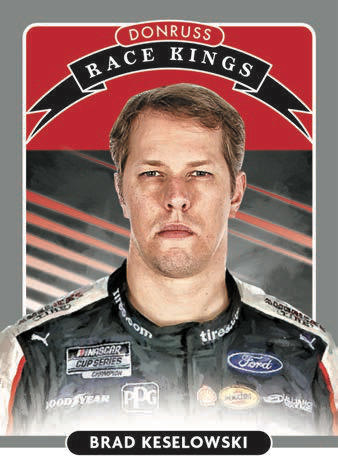 2021 Donruss Racing NASCAR Cards - Checklist Added 4
